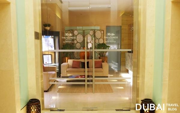 dubai mall spa the address