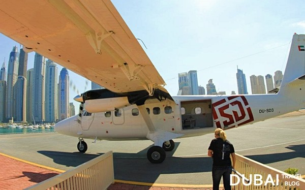 plane skydive dubai travel blog