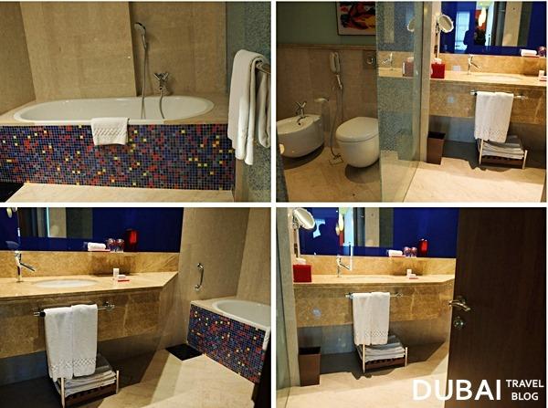 jumeirah hotel bathroom