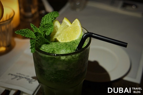 lemon mint drink dubai