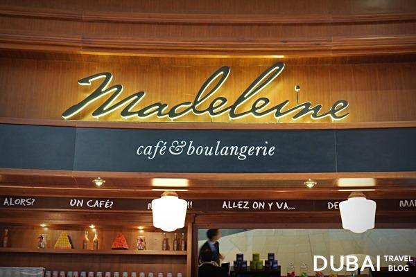 madeleine cafe and boulangerie dubai mall