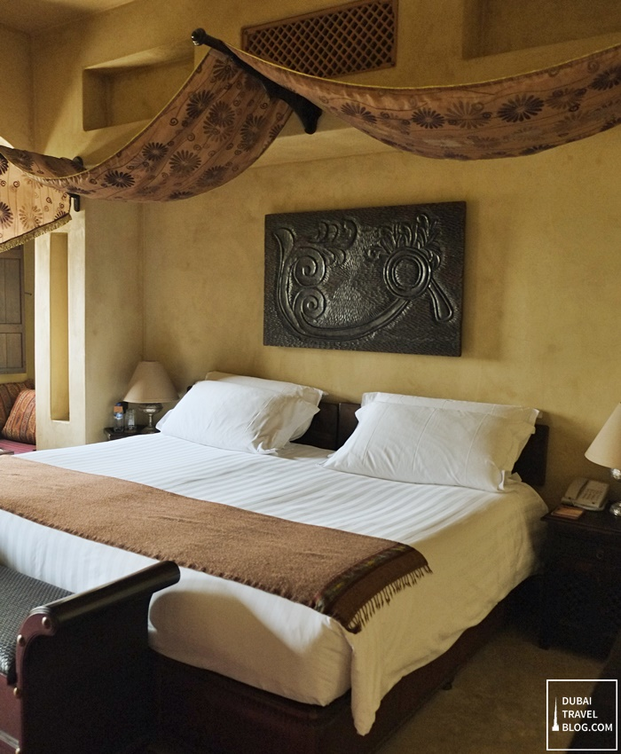bedroom in bab al shams dubai