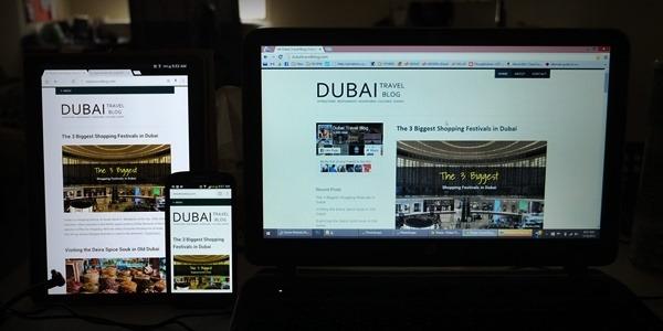 dubai travel blog site page