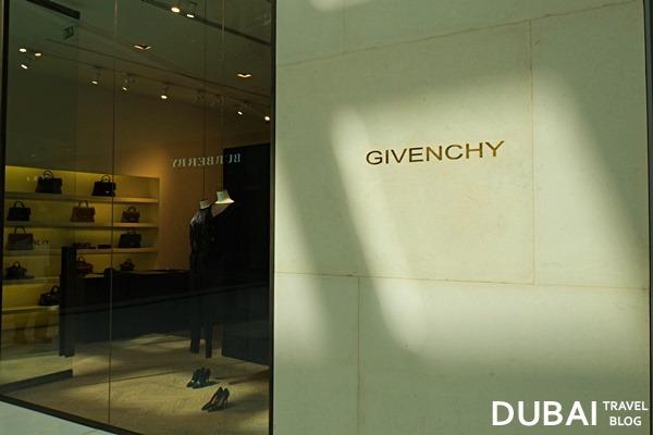 givenchy dubai mall