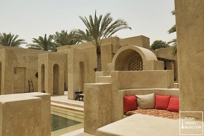 majlis sitting area bab alshams resort