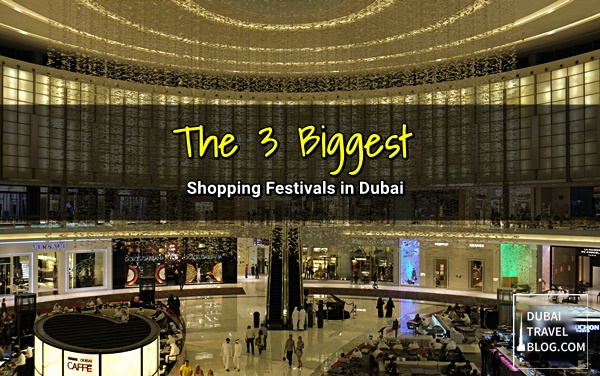 major shopping festivals dubai