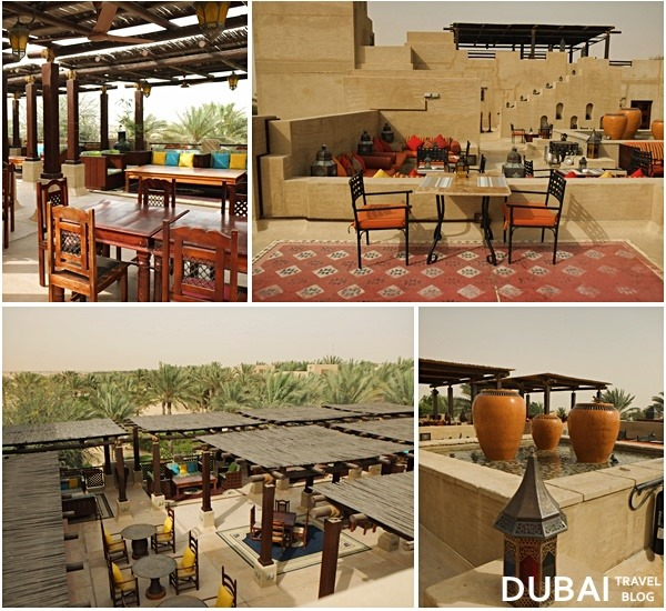 restaurants in bab al shams rooftop