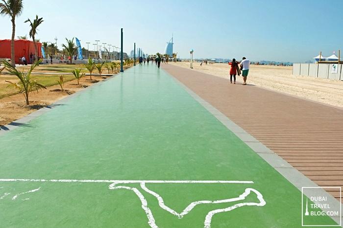running track jumeirah beach