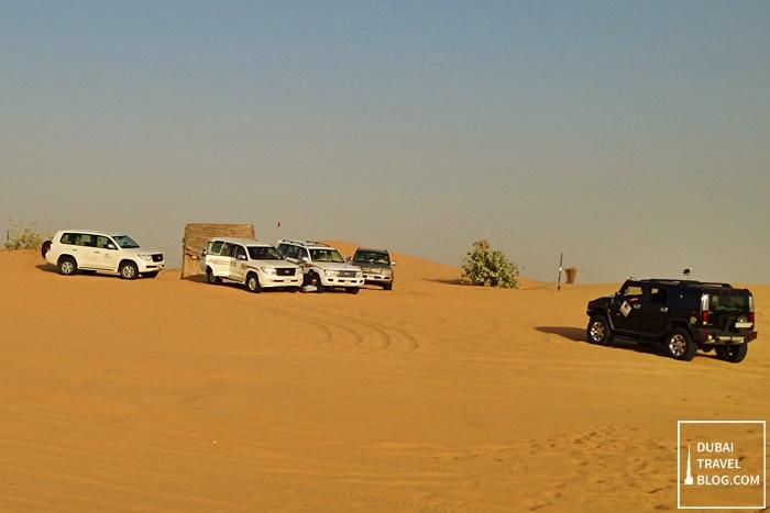 sand dune bashing desert