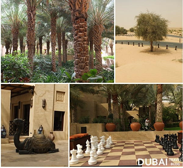 things to notice in the bab al shams resort