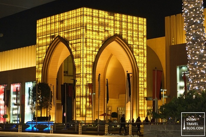 dubai mall souk entrance