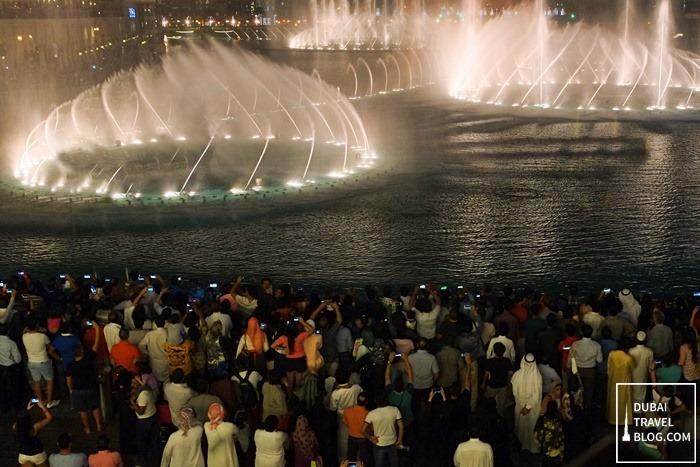 water fountain burj khalifa