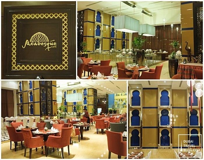 arabesque cafe dubai