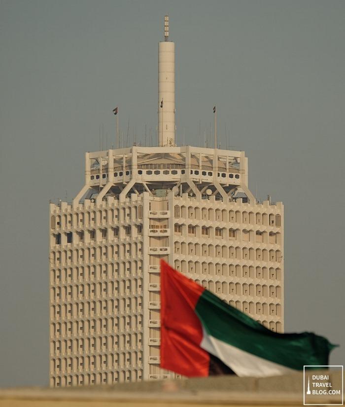 Dubai world trade center fujiwalk