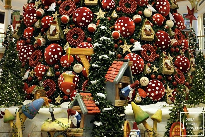 Christmas Tree Wafi Mall Dubai