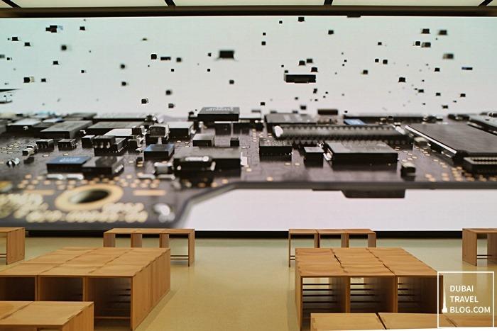 apple store screen dubai