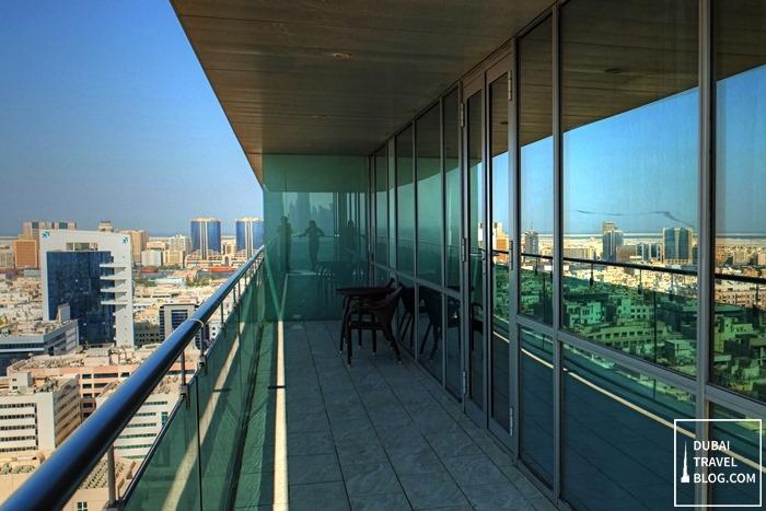 burjuman arjaan by rotana balcony