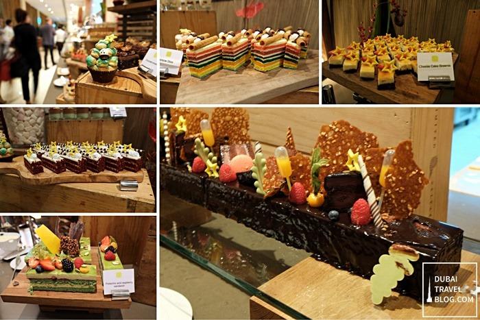 desserts at nosh restaurant