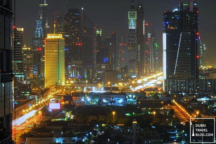 dubai world trade center shot