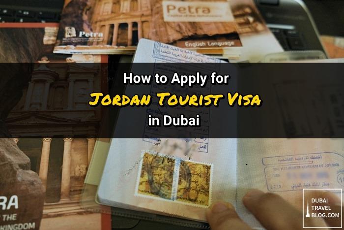 jordan visa application in dubai