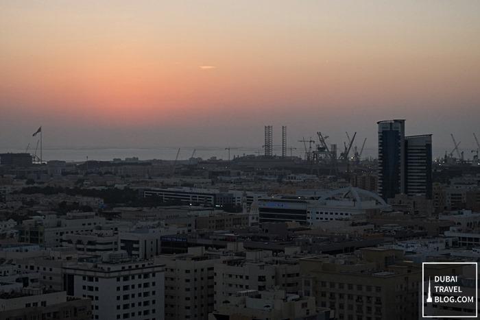 sunset old dubai