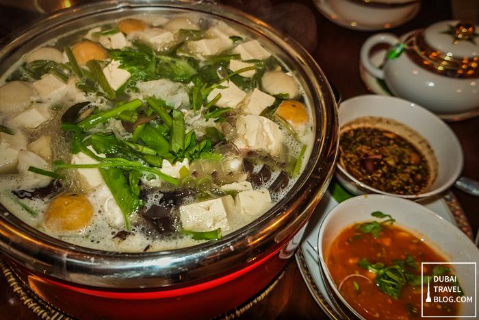 vegetable hotpot benjarong