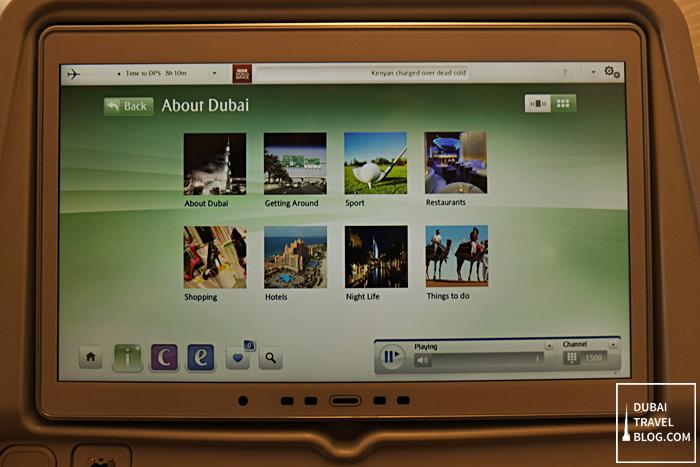 ICE inflight system emirates