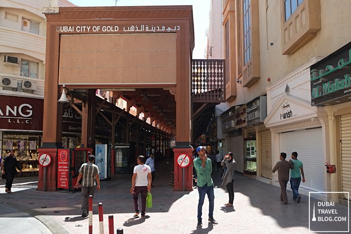 deira gold souk entrance