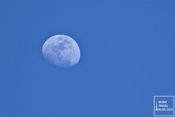 moon at JBR