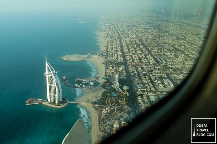 dubai burj al arab view