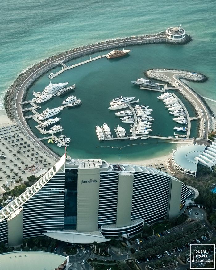 jumeirah beach hotel top photo