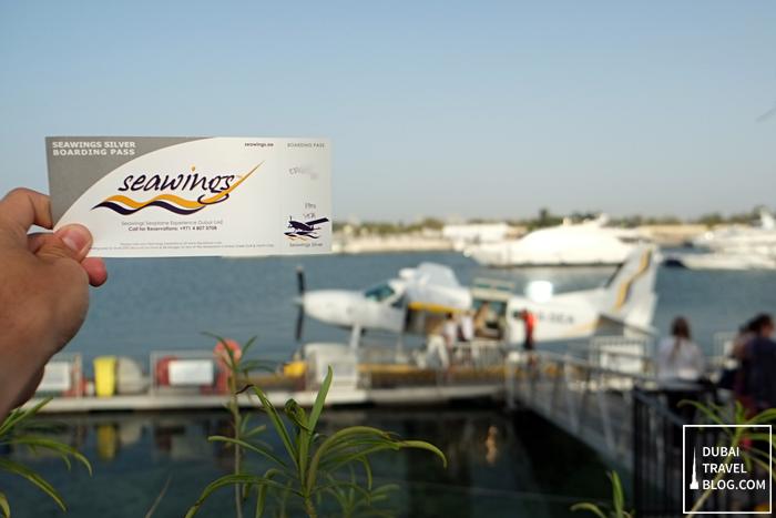 seawings boarding pass