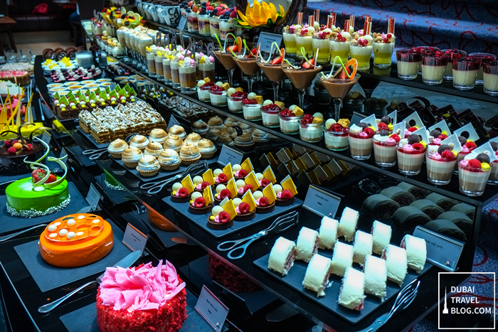 dessert station art of brunch movenpick bur dubai