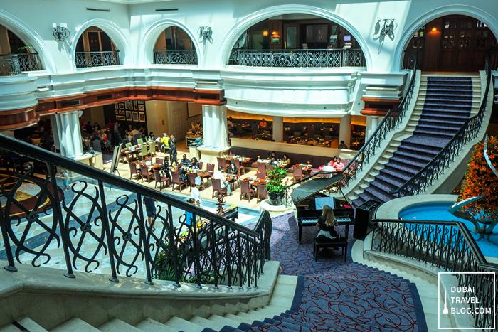 fountain restaurant movenpick hotel