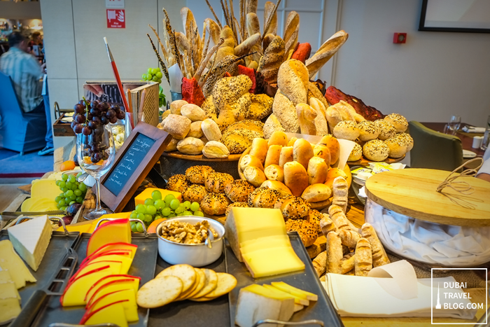 movenpick bread and cheese station