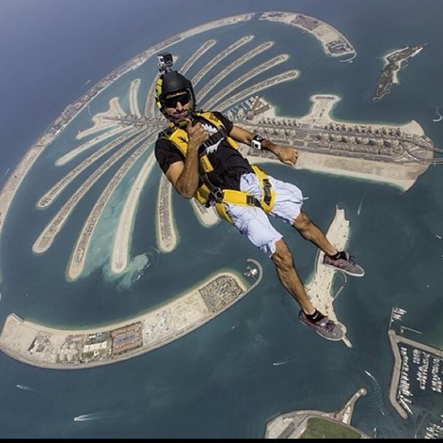 Sheikh Hamdan Sky Dive Dubai