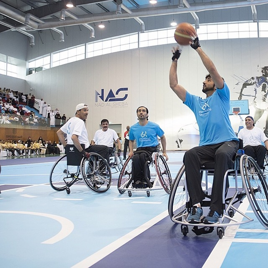 Sheikh Hamdan Wheelchair Basketball