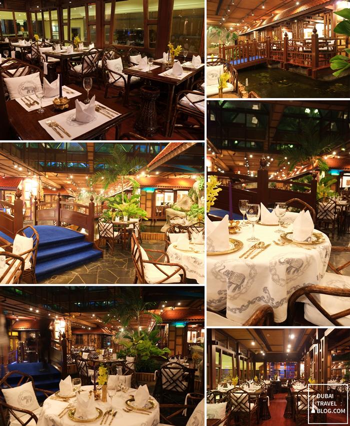 blue elephant restaurant interior design