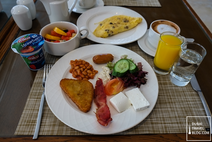 breakfast murjan restaurant fujairah