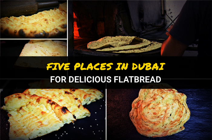 flatbreads in Dubai