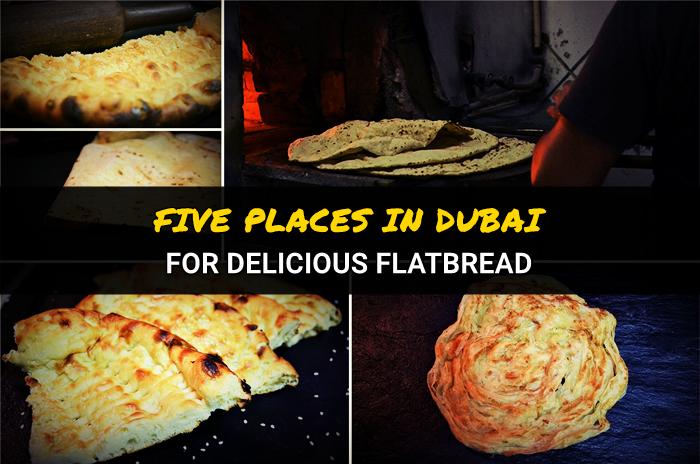 flatbreads in Dubai