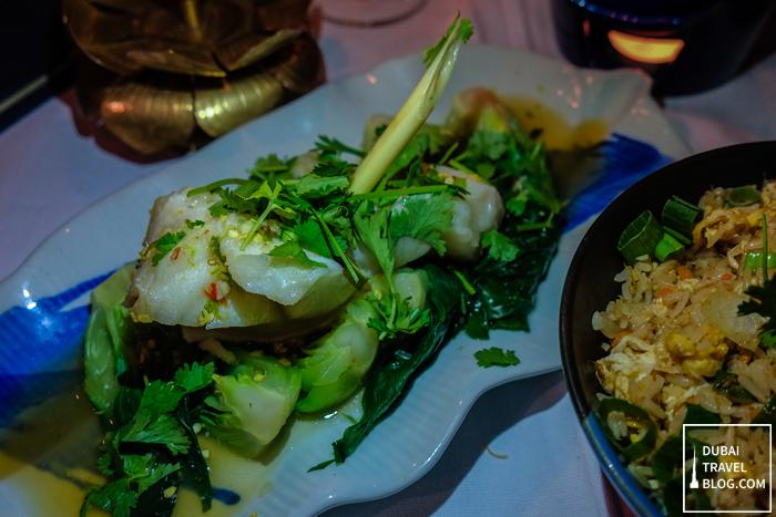thai food blue elephant restaurant dubai