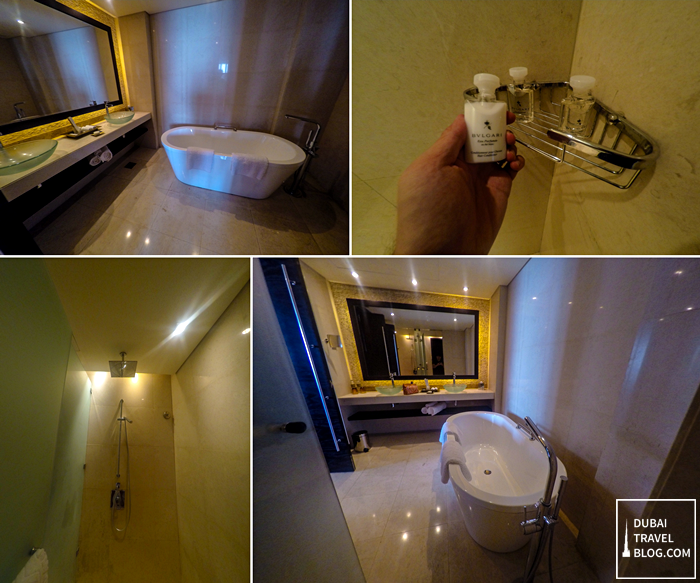 rixos the palm bathroom