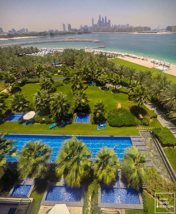 rixos the palm resort view palm jumeirah