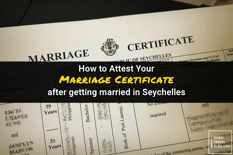 attest marriage certificate uae