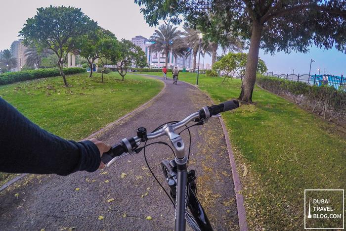 biking in dubai