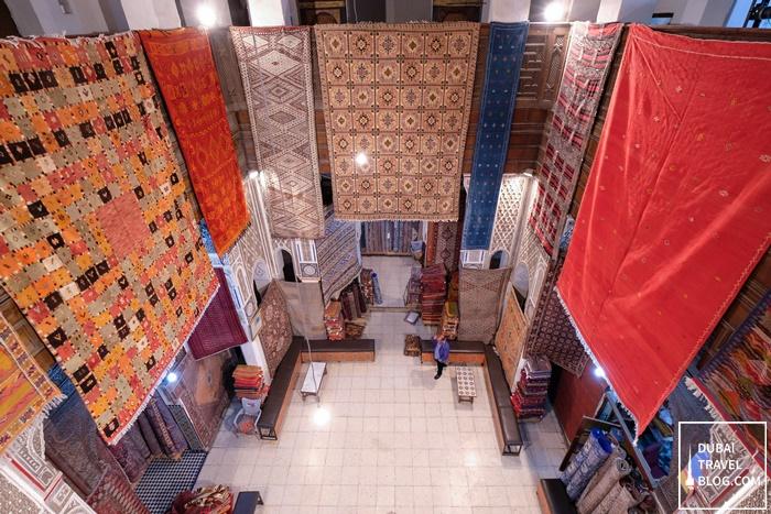 carpet shop medina fez morocco