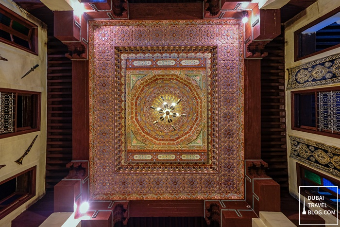 colorful ceiling riad fez moroccocolorful ceiling riad fez morocco