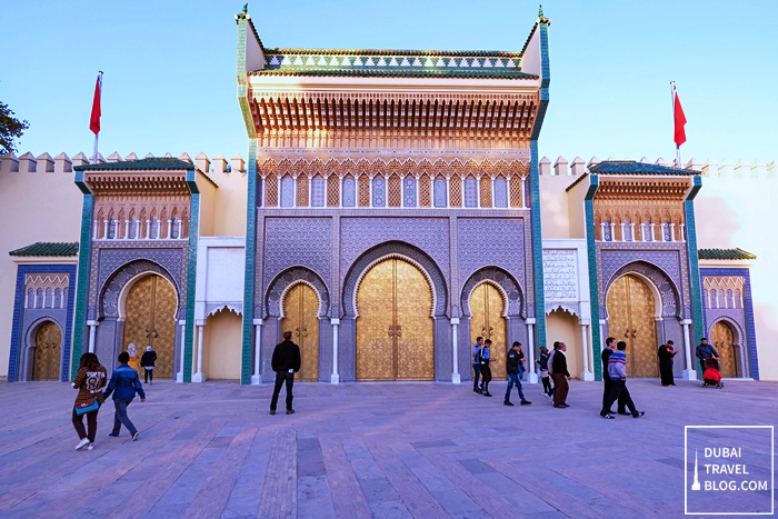 palais royal fez morocco