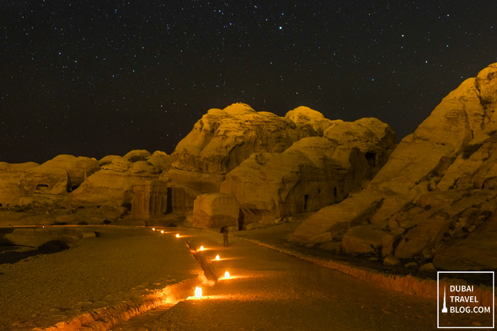 petra by night tour jordan